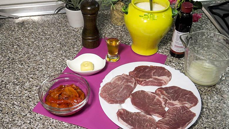 Ingredientes para presa a la miel receta fácil