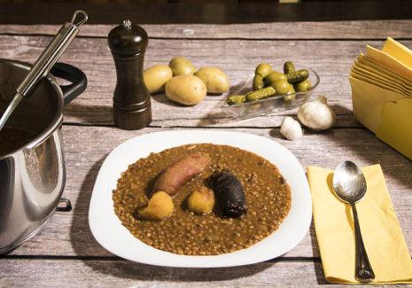 Recetas de guisos y legumbres