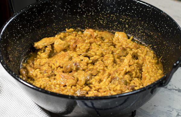 Receta fácil de arroz con pollo para niños