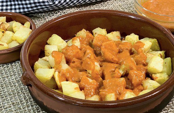 Patatas Bravas y Salsa Brava casera original