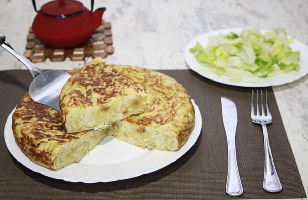 Tortilla de Patatas Española Perfecta